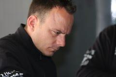Danilo Suriano Triumph Daytona 675 Power Suriano royalty free stock photography