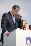 Danilo-Türke, der Präsident von Slowenien Lizenzfreie Stockfotos