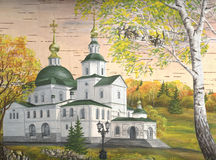 Danilov Kloster, Moskau, Russland Lizenzfreie Stockfotografie