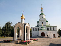 Danilov Monastery 15 Royalty Free Stock Photo