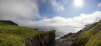 Danimarca, isole Feroe Imagen de archivo libre de regalías