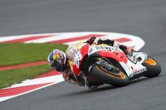 Danipedrosa, moto gp 2014 Royalty-vrije Stock Foto