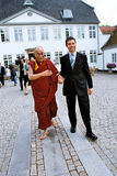 DANIS PM MEETS DALAI LAMA Royalty Free Stock Photography