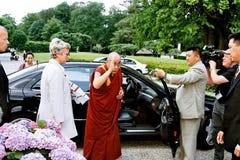 DANIS PM MEETS DALAI LAMA Stock Images