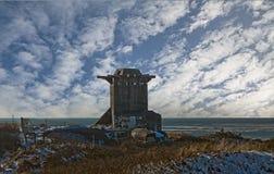 danish дзота пляжа Стоковое Изображение