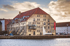 Danish architecture center Stock Images