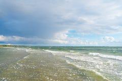 Danish beach landscape Stock Image