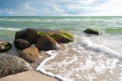 Danish beach landscape Royalty Free Stock Photography
