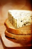 Danish blue cheese Royalty Free Stock Photo