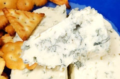 Danish blue cheese Royalty Free Stock Images