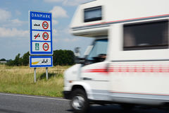 Danish Border stock photography