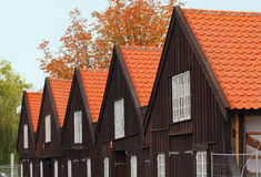Danish buildings Stock Photos