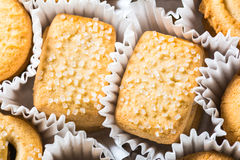 Danish butter cookies Royalty Free Stock Photo