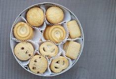 Danish butter cookies Stock Photos