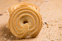Danish butter cookies Stock Photography