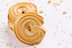 Danish butter cookies Stock Photo