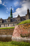 Danish castle Kronborg Royalty Free Stock Images