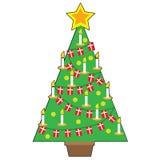 Danish Christmas Tree Stock Photography