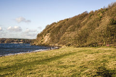 Danish coastline Royalty Free Stock Images