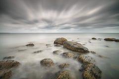 Danish coastline Royalty Free Stock Photo