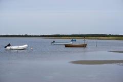 Danish coastline landscape royalty free stock image