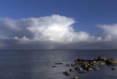 Danish coastline Stock Image