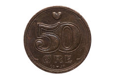 Danish Coin Stock Images