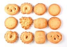 Danish cookies Royalty Free Stock Photos