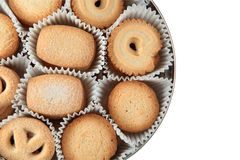 Danish cookies Royalty Free Stock Photo