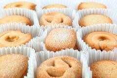 Danish cookies Royalty Free Stock Photo