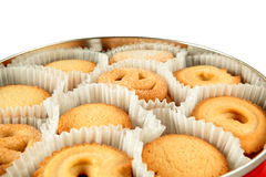 Danish cookies Royalty Free Stock Image