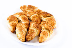 Danish croissant Royalty Free Stock Images