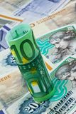 Danish crowns. Denmark Currency Stock Images