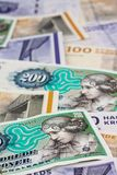Danish crowns. Denmark Currency Stock Photos