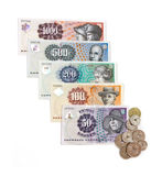 Danish currency Stock Images
