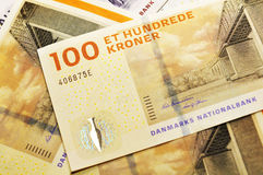 Danish currency Royalty Free Stock Photos