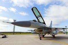 Danish F-16 Royalty Free Stock Photo