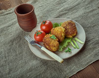 Danish Fish Balls Stock Photos