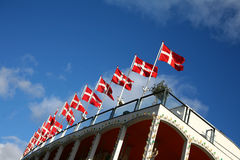 Danish flag Royalty Free Stock Photography