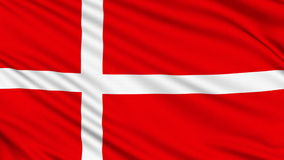 Danish Flag. Stock Image