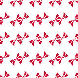 Danish flag seamless pattern Royalty Free Stock Photography