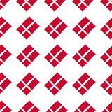 Danish flag seamless pattern Stock Photos