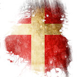 Danish flag Stock Photo