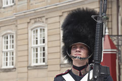Danish guardsman Stock Photos