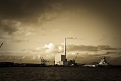 Danish Harbour Stock Photos