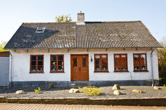 Danish house Stock Images