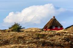 Danish house near Norre Nebel Royalty Free Stock Image