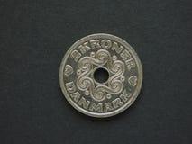 2 Danish Krone (DKK) coin Stock Photo