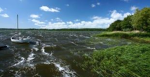 Danish lake Stock Photo