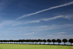 Danish landscape Royalty Free Stock Images